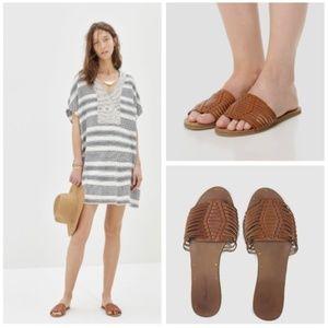Madewell Willa Slide Sandal Size 8